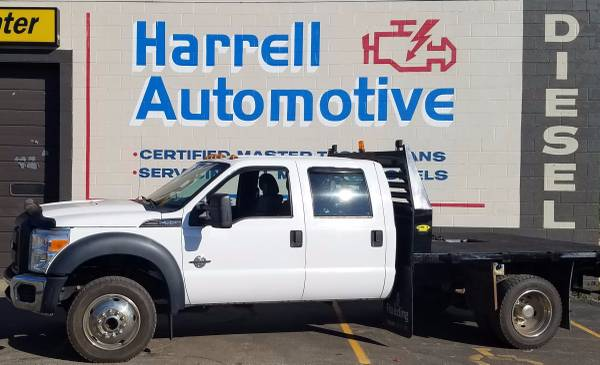 2011 Ford F-550 With New Motor