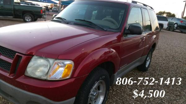 2DR FORD EXPLORER-$4,500
