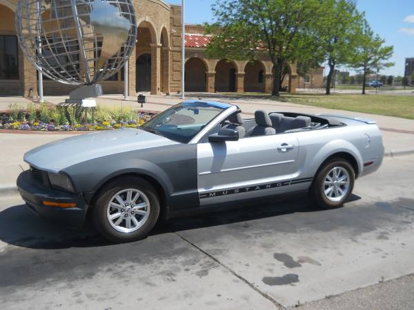 >>> $3,995 CASH *** 2007 FORD MUSTANG CONVERTIBLE *** ON...