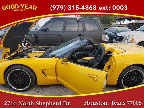 2001 *Chevrolet Corvette* Convertible NO CREDIT CHECK REQUIRED!