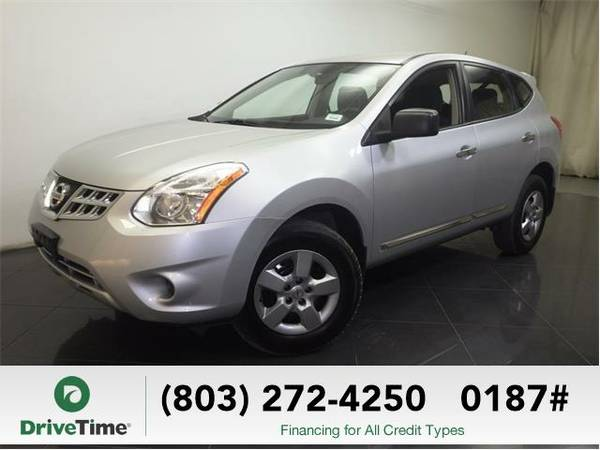 2012 Nissan Rogue S (SILVER) - Beautiful & Clean Title
