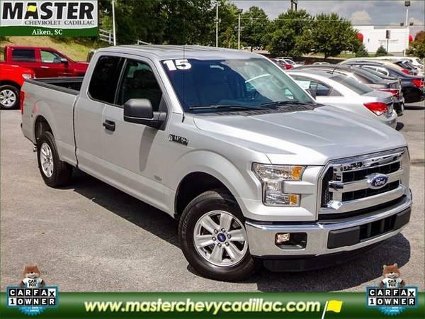 2015 *Ford F-150* XLT - (Ingot Silver Metallic)
