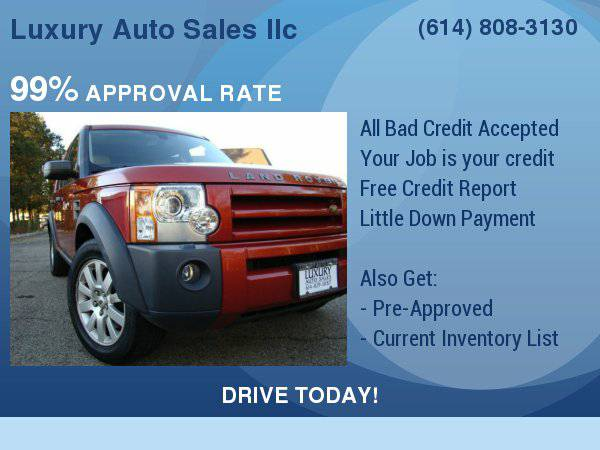 2006 Land Rover LR3 4dr V8 Wgn SE Finance Made Easy Apply NOW !!!