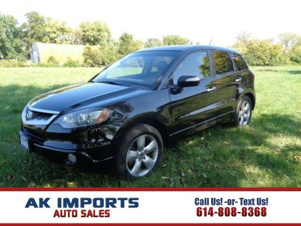 2008 Acura RDX 5-Spd AT with Technology Package SUV RDX Acura