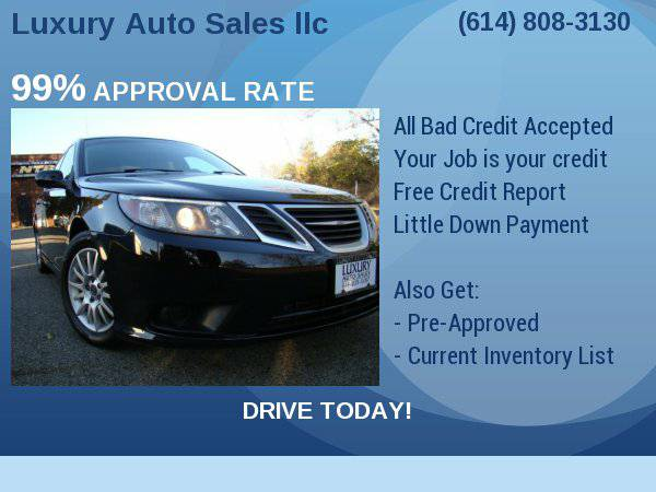 2008 Saab 9-3 4dr Sdn Finance Made Easy Apply NOW !!!