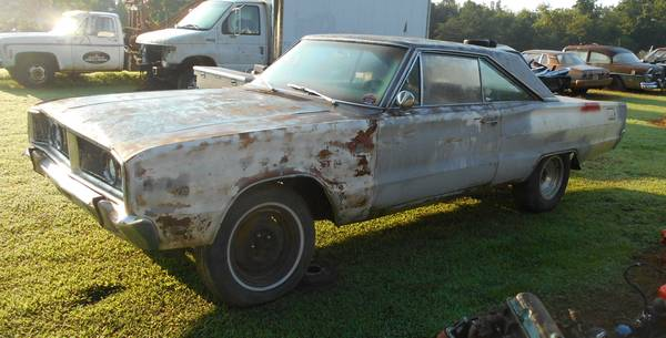 1966 DODGE CORONET 440 COUPE PROJECT MUSCLE CAR