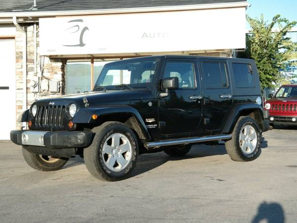 2008 *Jeep* Wrangler* Unlimited* Sahara* - 4x4 Leather Seats - Navigat