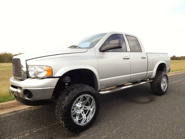 REGENCY CUSTOM 2005 DODGE RAM 2500-4X4-5.9 CUMMINS-LIFTED-FUELS & 35S