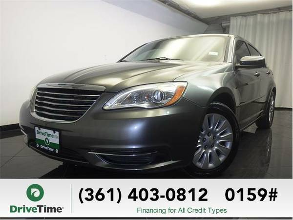 2012 Chrysler 200 LX (GRAY) - Beautiful & Clean Title