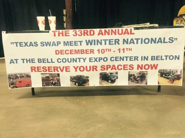 THE 33RD ANNUAL NATIONALLY ADVERTISED TEXAS SWAP MEET WINTERNATIONALS
