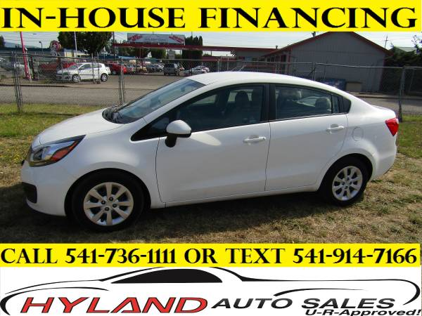 2014 KIA RIO LX *SNAPPY FUN ! **U-R APPROVED !!! @ HYLAND AUTO SALES**