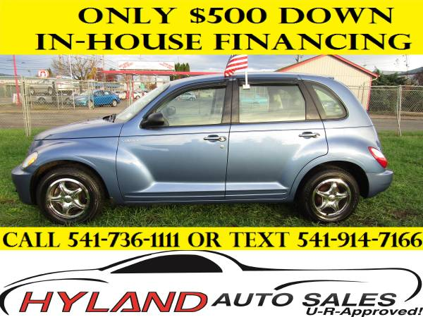 2006 CHRYSLER PT CRUISER SPORT *ONLY 80,908 MILES* ONLY $500 DOWN