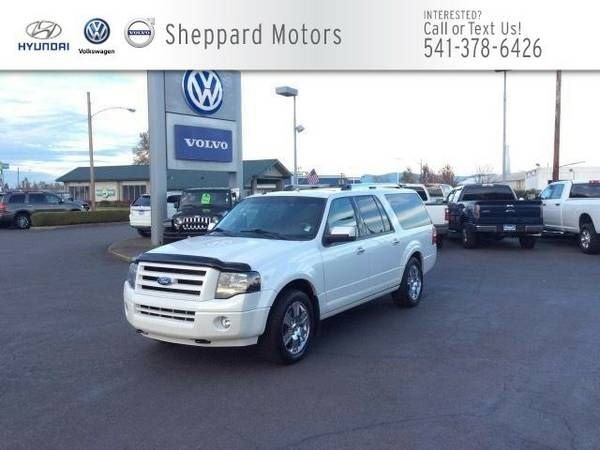 2010 Ford Expedition EL 4WD 4dr Limited SUV Expedition EL Ford
