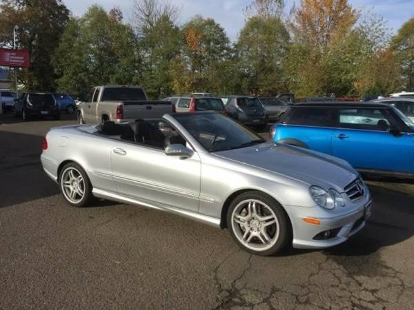 2009 *Mercedes-Benz* *CLK-Class* *2dr Cabriolet 5.5L* Convertible