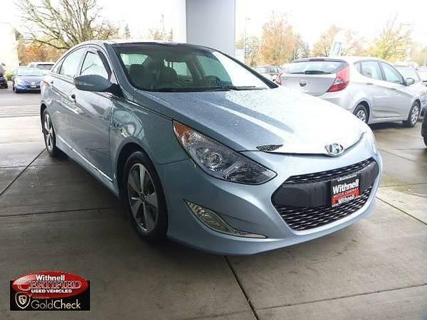 2012 *Hyundai*Sonata* 4dr Sdn 2.4L Auto Hybrid - (BLUE)...
