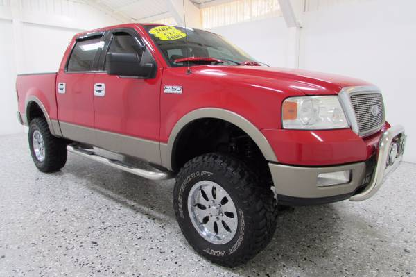 Lifted 2004 Ford F-150 SuperCrew Lariat - Leather - WE FINANCE!