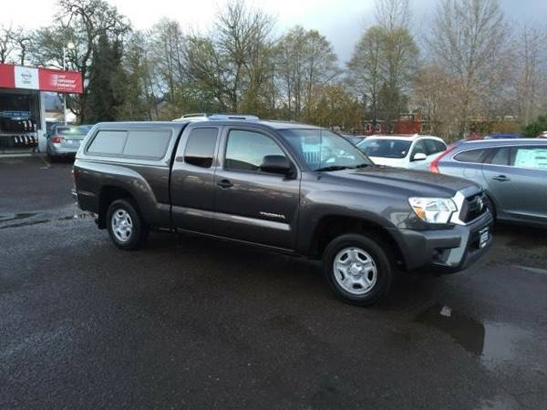 2013 *Toyota* *Tacoma* *2WD Access Cab I4 MT (Natl)* Extended Cab...