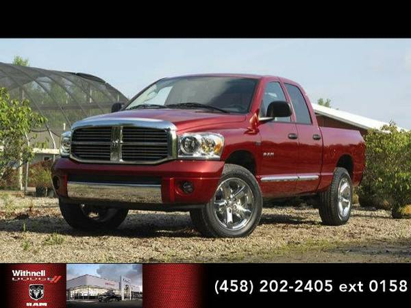 2008 *Dodge Ram 1500* 4WD Quad Cab 140.5 SLT (BLUE)