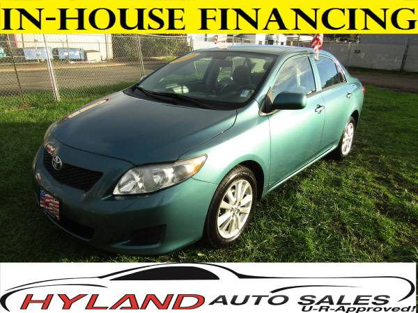2010 TOYOTA COROLLA LE *LOW MILES* U-R-APPROVED !! @ HYLAND AUTO SALES