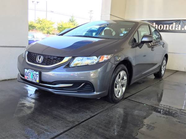 2013 Honda Civic LX 4dr---LOW MILES----FINANCING AVAILABLE------------