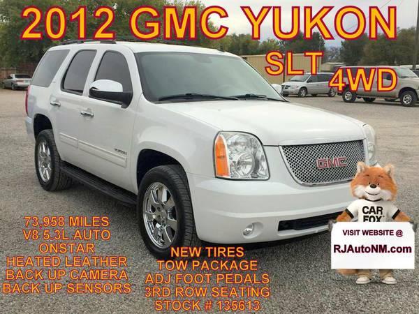 2012 GMC YUKON SLT #135613