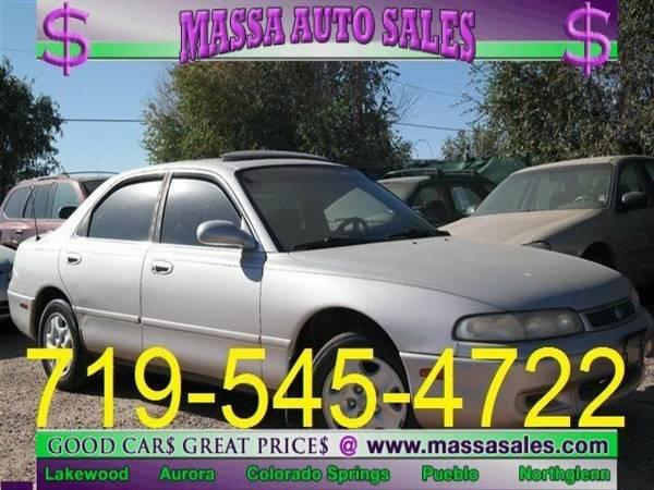 1993 Mazda 626 4dr Sedan LX SEDAN