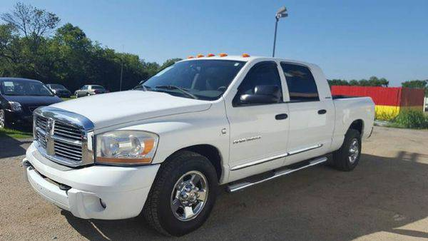 2006 *Dodge* *Ram* *3500* Laramie*5.9 DSL* LOW MILES* -GOOD CREDIT, BA