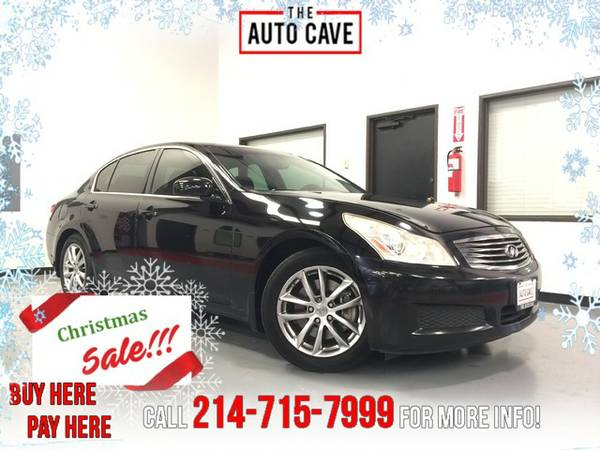 2007 Infiniti G35 *Black Leather/NAV/Sunroof*