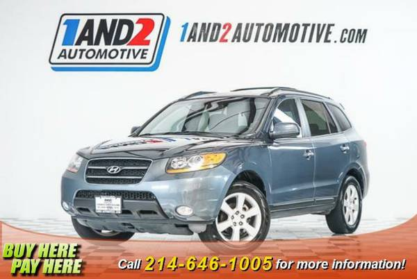 2008 Hyundai Santa Fe **Heated Leather Seats**Sunroof**Premium Ster...