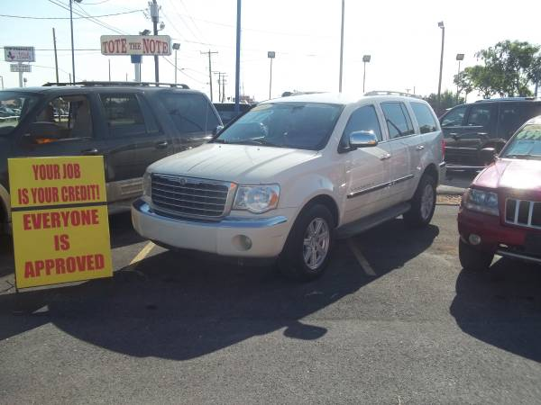 Chrysler Aspen 4x4 Pearl White Financing Avail Any Credit Score