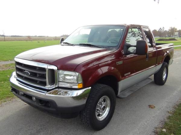 2004 Ford F250 Ext Cab Lariat 4x4 Powerstroke Diesel