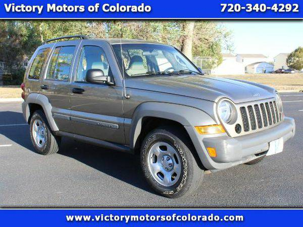 2005 *Jeep* *Liberty* Sport 4WD - Over 500 Vehicles to Choose From!