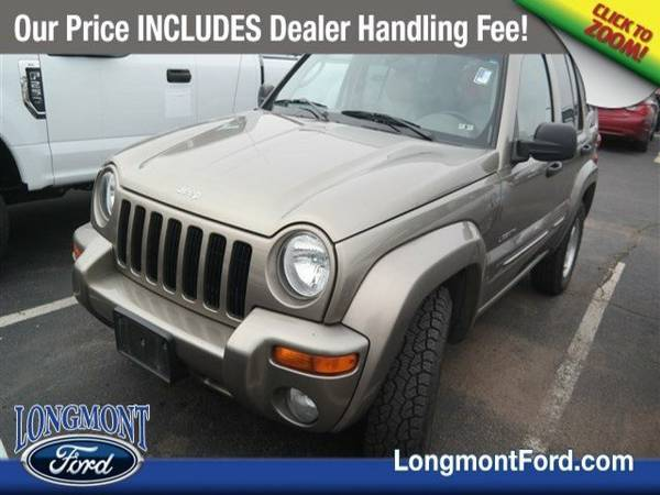 2004 Jeep Liberty 4dr Limited 4WD Sport Utility