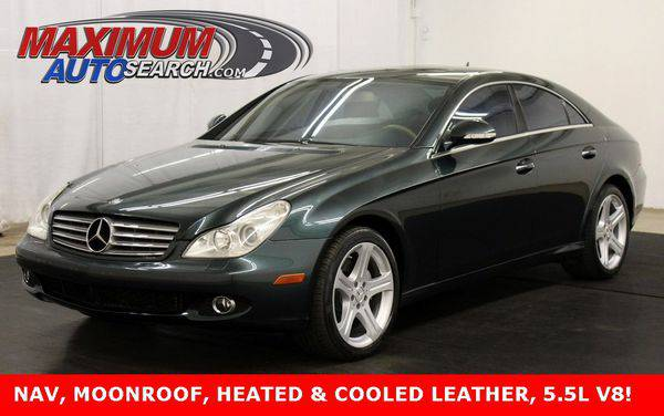 2007 *Mercedes-Benz* *CLS-Class* CLS550 - Call or TEXT! Financing Avai