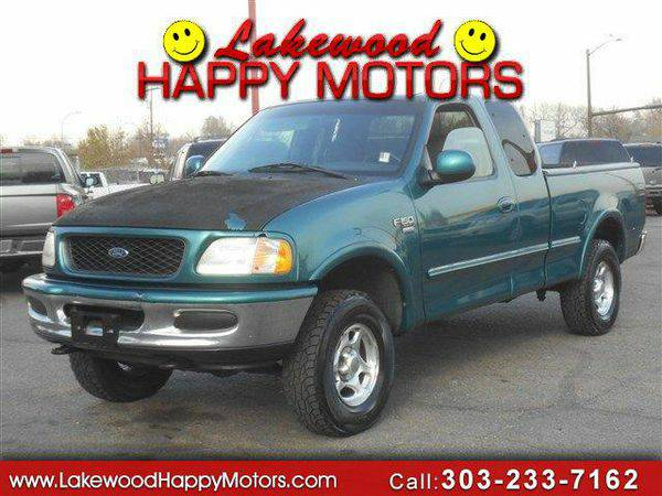 1998 *Ford* *F-150* *F 150* *F150* XL SuperCab Short Bed 4WD