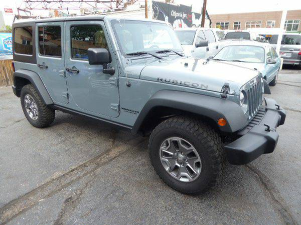 2015 *Jeep* *Wrangler* *Unlimited* Rubicon - Call or TEXT! Financing A