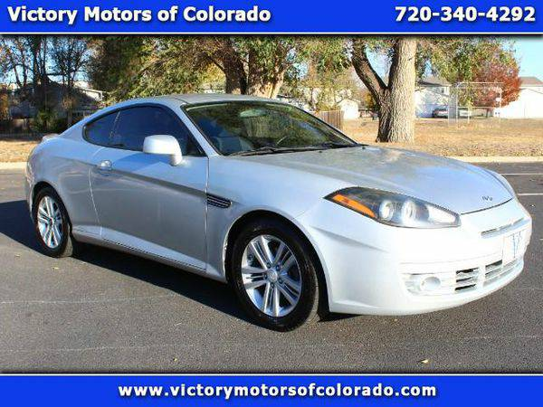 2007 *Hyundai* *Tiburon* GS - Over 500 Vehicles to Choose From!