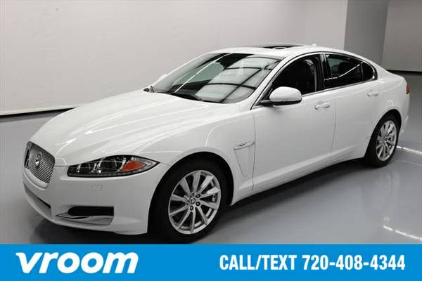 2013 Jaguar XF 2.0T 4dr Sedan Sedan 7 DAY RETURN / 3000 CARS IN STOCK