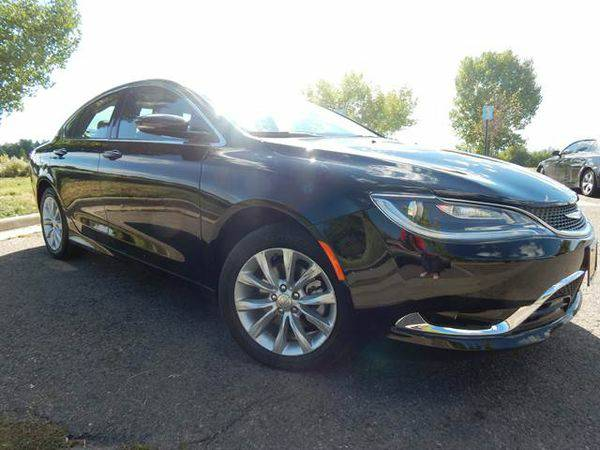 2015 *Chrysler* *200* 200C Sedan 4D -⛽TEXT OR CALL FOR PRE-APPRO