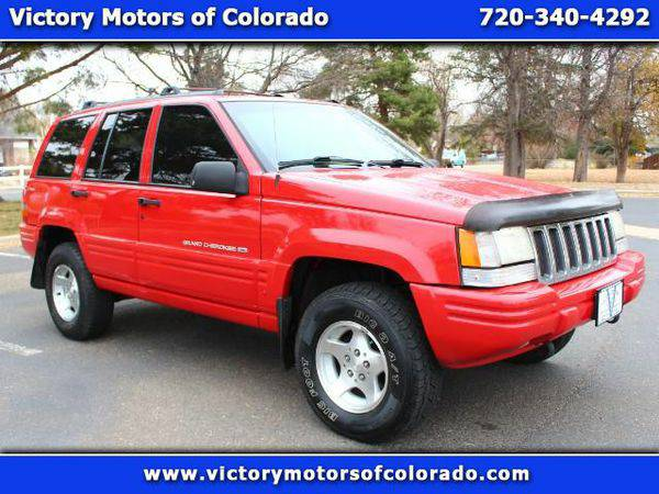 1998 *Jeep* *Grand* *Cherokee* Laredo 4WD - Over 500 Vehicles to Choos