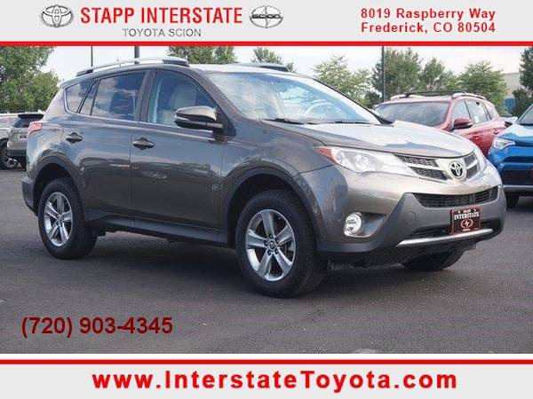 2015 *Toyota* *RAV4* *XLE* 4WD Fuel Efficient SUV Navigation 15