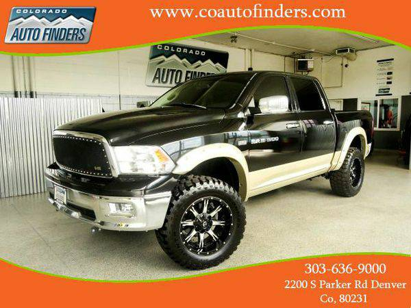 2011 *RAM* *1500* Laramie Crew Cab 4WD - Call or TEXT! Financing Avail