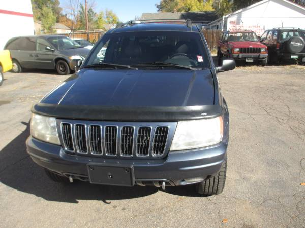 2001 JEEP GRAND CHEROKEE LIMITED 4X4 4.7 V-8 VERY SHARP