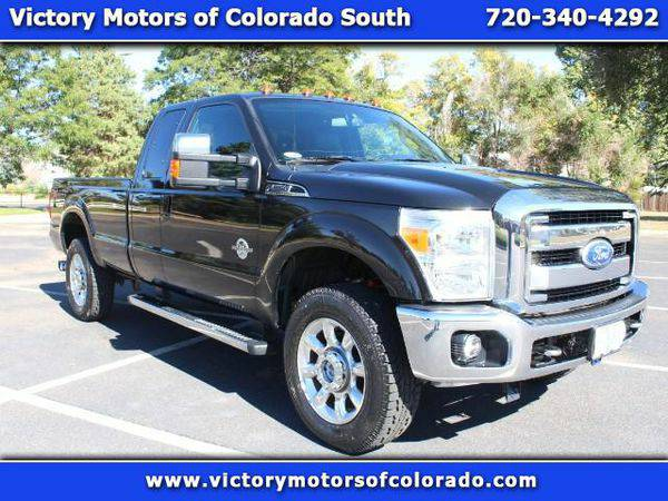 2011 *Ford* *F-350* *F 350* *F350* *SD* Lariat SuperCab Long Bed 4WD -