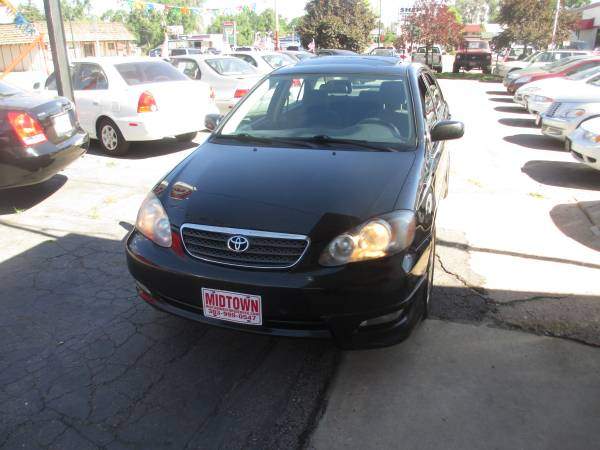 2007 TOYOTA COROLLA S AUTOMATIC LOW MILEAGE.