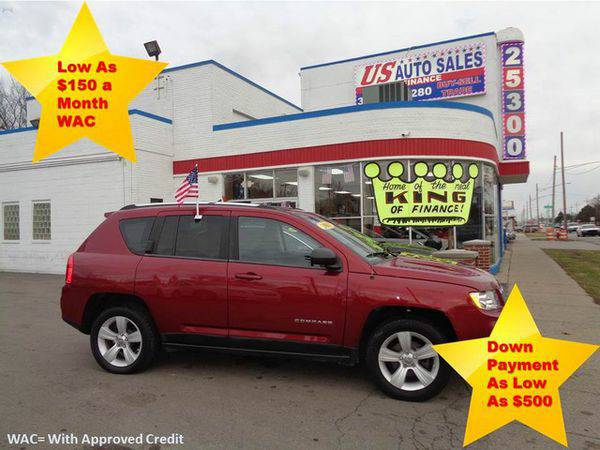 2011 *JEEP* *COMPASS* LATITUDE -BAD CREDIT NO PROBLEM! YOU'RE APPR