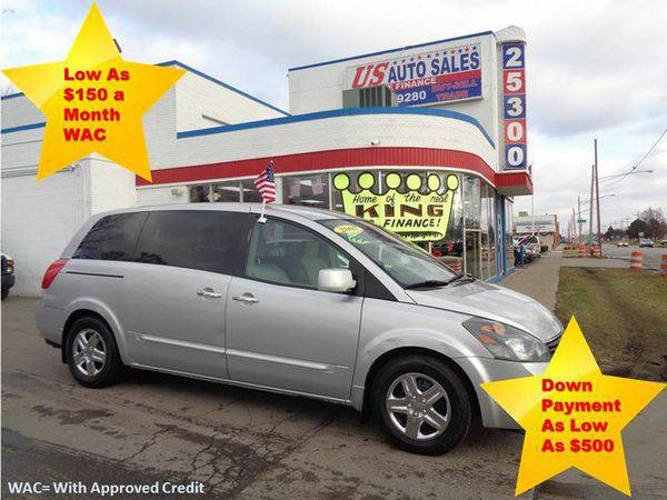 2007 *NISSAN* *QUEST* BASE -BAD CREDIT NO PROBLEM! YOU'RE APPROVED