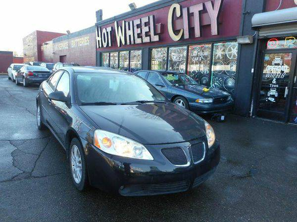 2005 *Pontiac* *G6* Base 4dr Sedan 🚀EVERYONE WELCOME !!