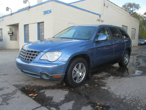 2007 CHRYSLER PACIFICA AWD LEATHER 3RD ROW SEAT ( 1300 DOWN PAYMENT )