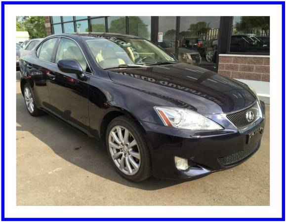 2007 Lexus IS 250 Start Driving Today!!! Little As $500 DOWN